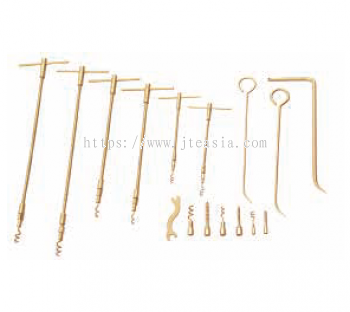 16Pc Safety Packing Tool Set