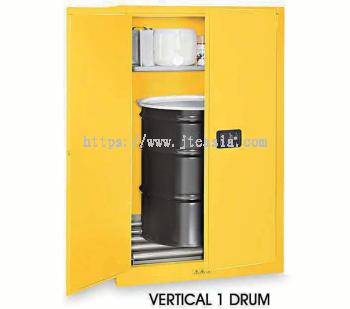 Yellow Drum Storage Cabinets