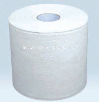 245 x 350mm Industrial Powerful Single Ply Roll - White, 550 per Roll