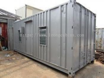 Container Converted to Labour Cabin
