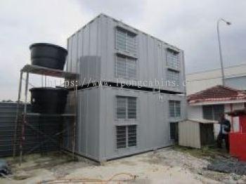 Double Decker Steel Labour Cabin