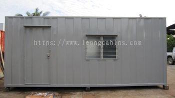 20�� X 10�� Steel Office Cabin