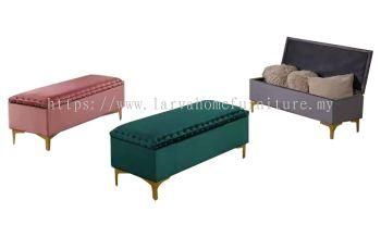 Golg leg storage bench