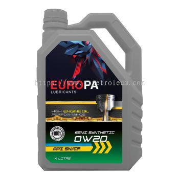 Europa 0W20 Semi Synthetic 999