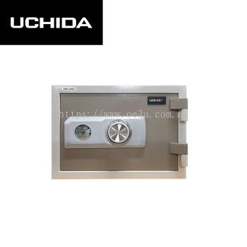 UCHIDA FIRE RESISTANT SAFE (UBH-37CD)_37KG