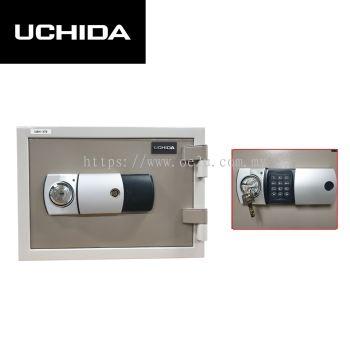 UCHIDA FIRE RESISTANT SAFE (UBH-37E)_37KG