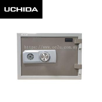 UCHIDA FIRE RESISTANT SAFE (UBH-57CD)_57KG