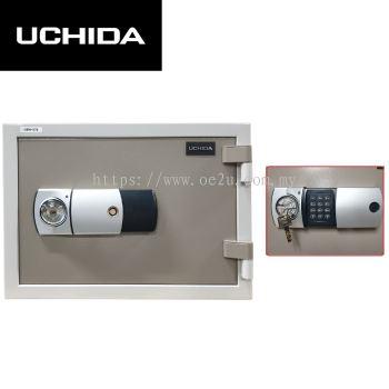UCHIDA FIRE RESISTANT SAFE (UBH-57E)_57KG