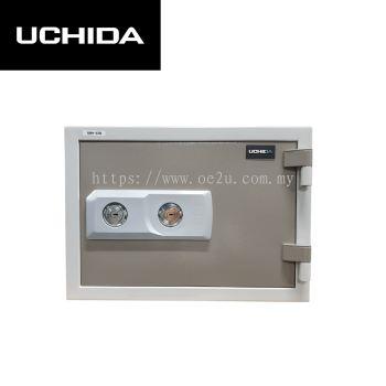UCHIDA FIRE RESISTANT SAFE (UBH-57K)_57KG
