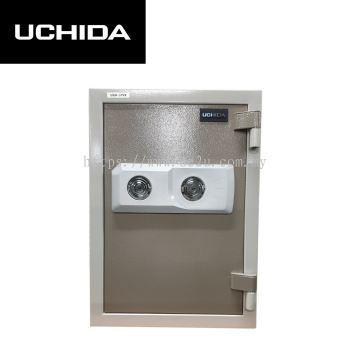 UCHIDA FIRE RESISTANT SAFE (UBH-57VK)_57KG