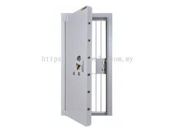 "FALCON 6"" Book Room Door c/w Grille Gate (BRD 06)_280kg"