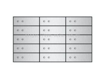 FALCON Safe Deposit Locker - 15 Lockers (FSDL 150410)_134kg