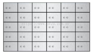 FALCON Safe Deposit Locker - 30 Lockers (FSDL 300405)_160kg