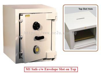 LION M-Series Commercial Safe c/w Envelope Slot on Top (M1 Slot)_324kg