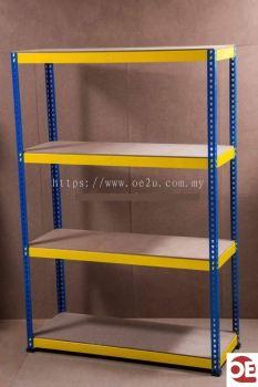 Boltless Rack (1800H x 1800W x 600D mm)