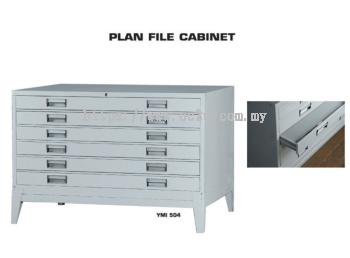 6 Drawer Plan File Cabinet (Horizontal Antiquarian)