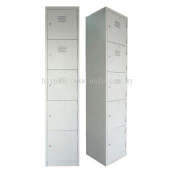5 Compartment Steel Locker