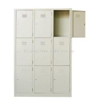 Multi-Compartment Locker (3x3 Compartment)
