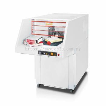 IDEAL 5009-3 CC High Capacity Paper Shredder (Cross Cut: 6x50mm, Bin Capacity: 300 Liters)_Made in Germany