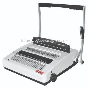 BIOSYSTEM X5 Comb & Wire Binder (2in1)