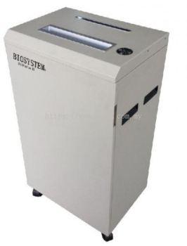 BIOSYSTEM 3100plus II Heavy Duty Paper Shredder (Cross Cut)