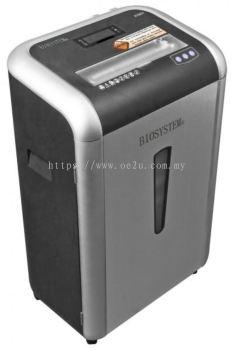 BIOSYSTEM 915CC II Heavy Duty Paper Shredder (Micro Cut)
