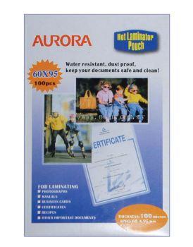 Aurora Lamination Film - Card Size (100pcs)