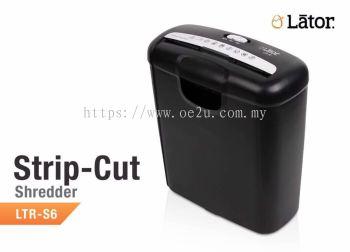 LATOR LTR-S6 Strip Cut Paper Shredder
