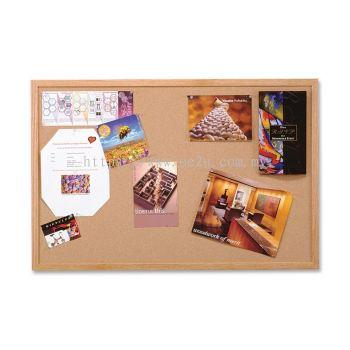 QUARTET Oak Cork Frame Board