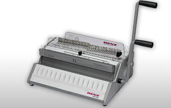 RENZ SRW 360 Comfortplus Manual Wire-O Binding Machine (Made in Germany)