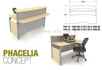 Reception Counter_1900W x 1077D x 1050H mm (PHACELIA Concept)