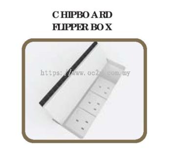 Chipboard Flipper Wire Box (4 Gang / 6 Gang)