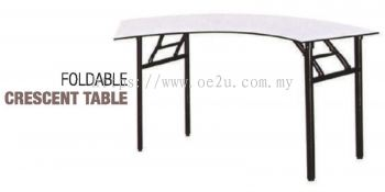 Foldable Crescent Table (Heavy Duty)