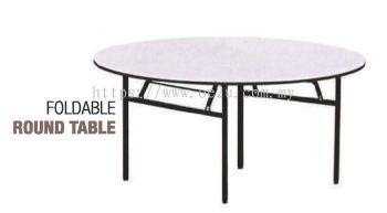 Foldable Round Table (Medium Duty)
