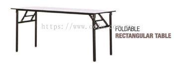Foldable Rectangular Table (Heavy Duty)