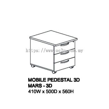 Mobile Pedestal 3D (MARS 520)