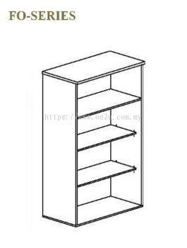 High Open Shelf Cabinet - 4 Tiers (FO Series)