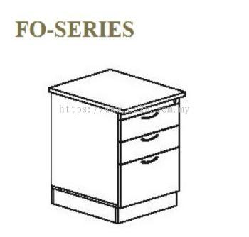 Stand Pedestal Drawer 2D+1F (FO Series)