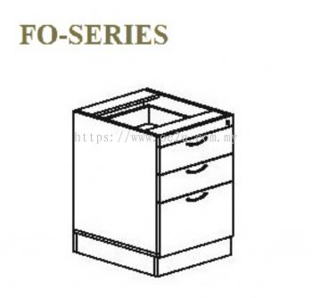 Fixed Pedestal Drawer 2D+1F (FO Series)