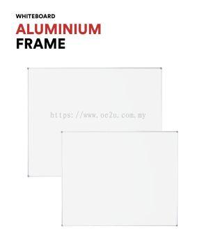 Aluminium Frame Non-Magnetic Whiteboard (HPL Non-Magnetic Surface)
