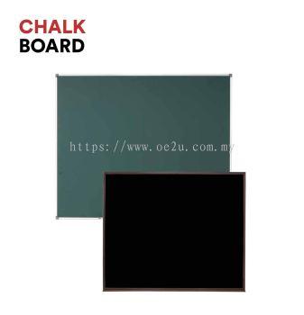 Aluminium Frame Chalk Board (Magnetic Green Surface)