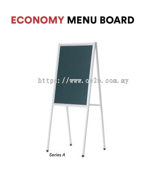 Economy Menu Board (Series A) - Single Sided