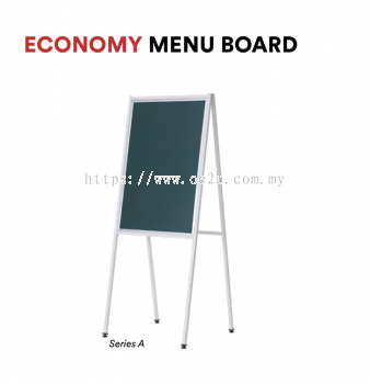 Economy Menu Board (Series A) - Double Sided