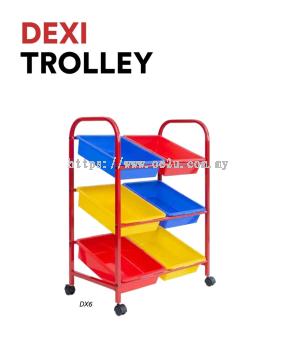 DEXI Trolley (6 Tray)