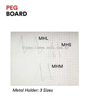Metal Holder (For PEG Board)