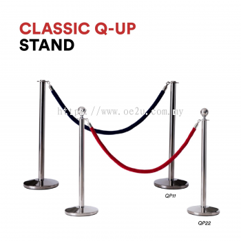 Classic Q-Up Stand (Without Velvet Rope)