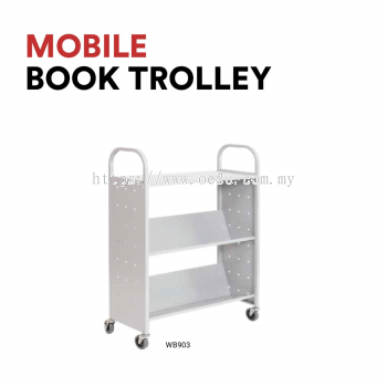 Mobile Book Trolley (WB903)