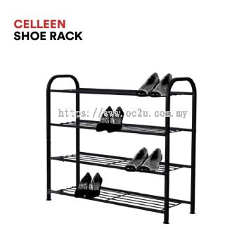 CELLEEN Shoe Rack (4 Tiers)