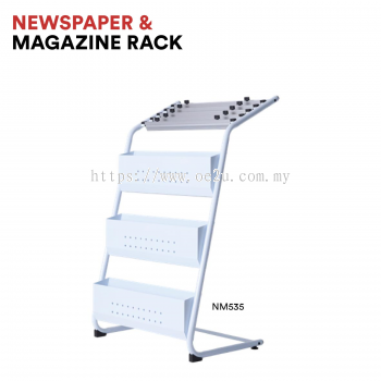 Newspaper & Magazine Rack (NM535)