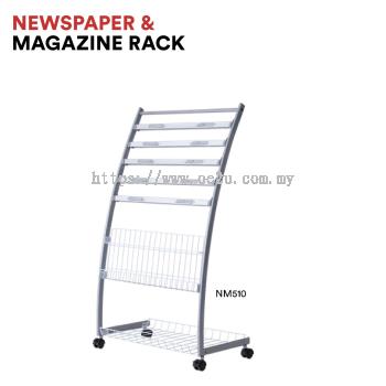 Newspaper & Magazine Rack (NM510)